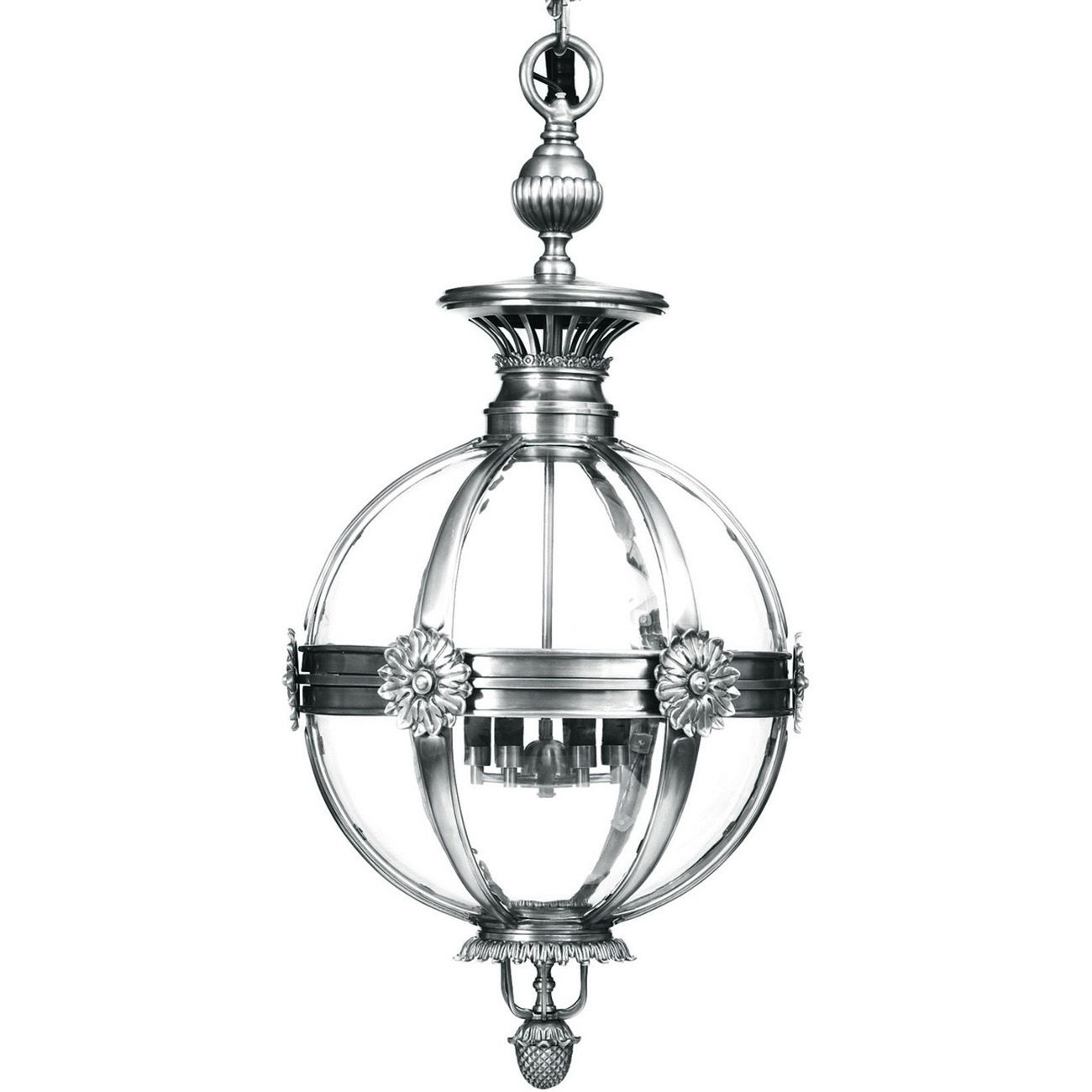 Whitehouse Chandelier Nickel Finish Small E14 40W 3 thumbnail