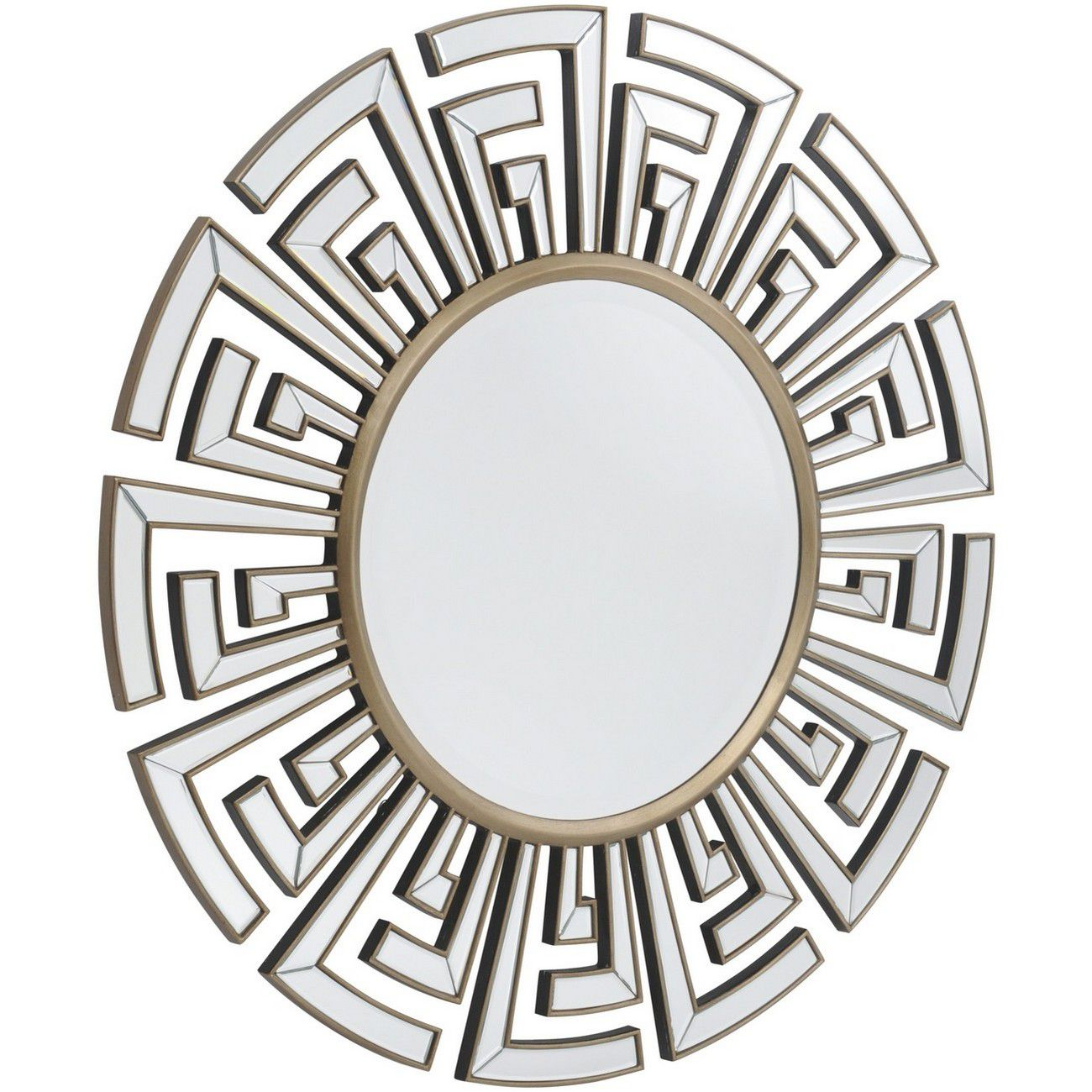 Claridge Deco Round Mirror thumbnail