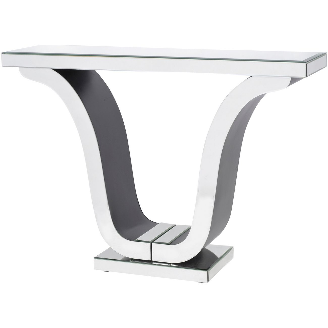 Veneto Mirrored Glass Deco Console Table thumbnail