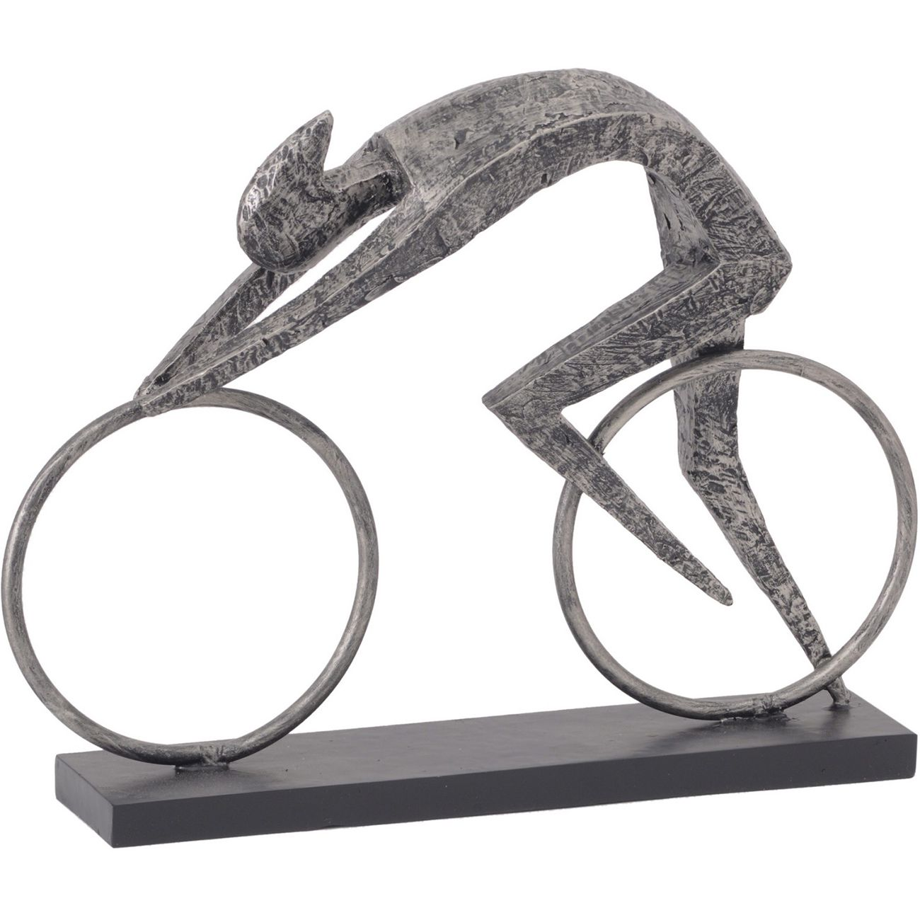 Abstract Cyclist Sculpture thumbnail