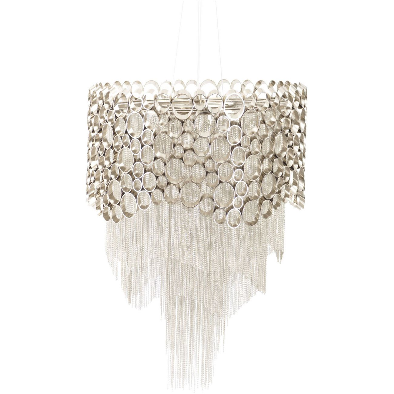 Venus Nickel Chandelier E27 40W 5 thumbnail