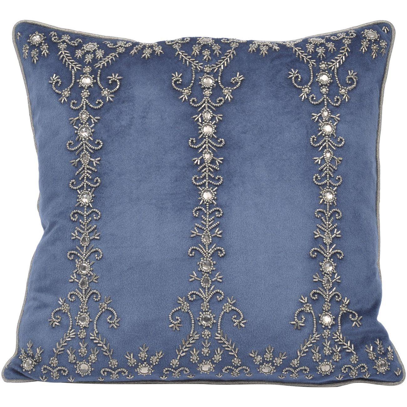 Pembroke Velvet Square Cushion 40x40cm thumbnail