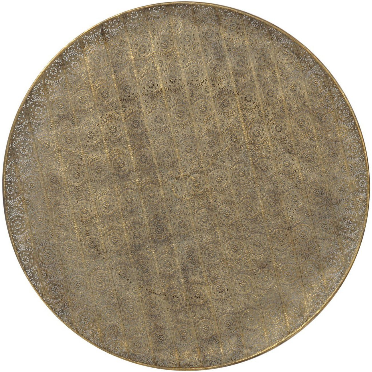 Antique Gold Filigree Wall Disc thumbnail