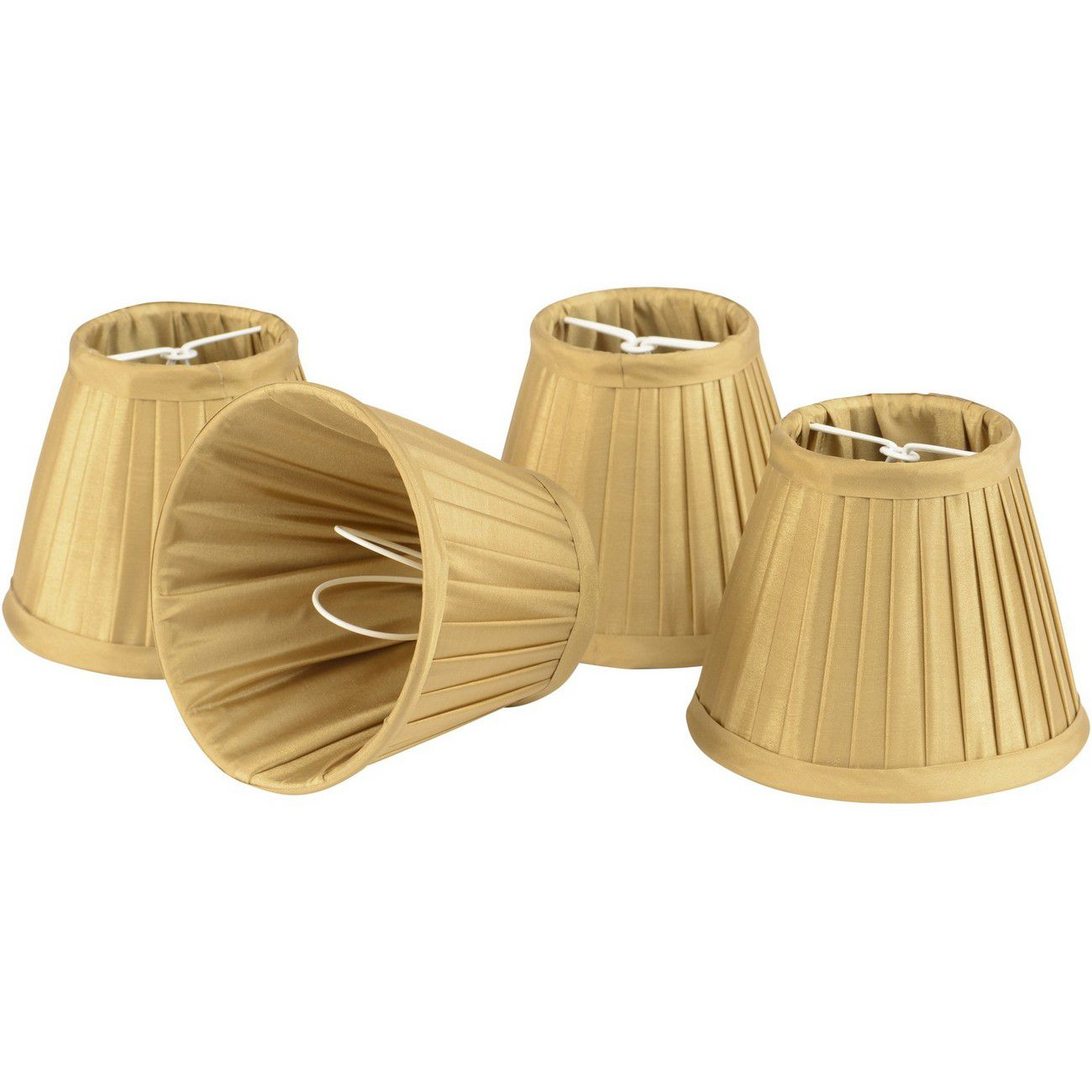 Set of Gold Shades Large For Bamboo Lantern 701097,701098 thumbnail