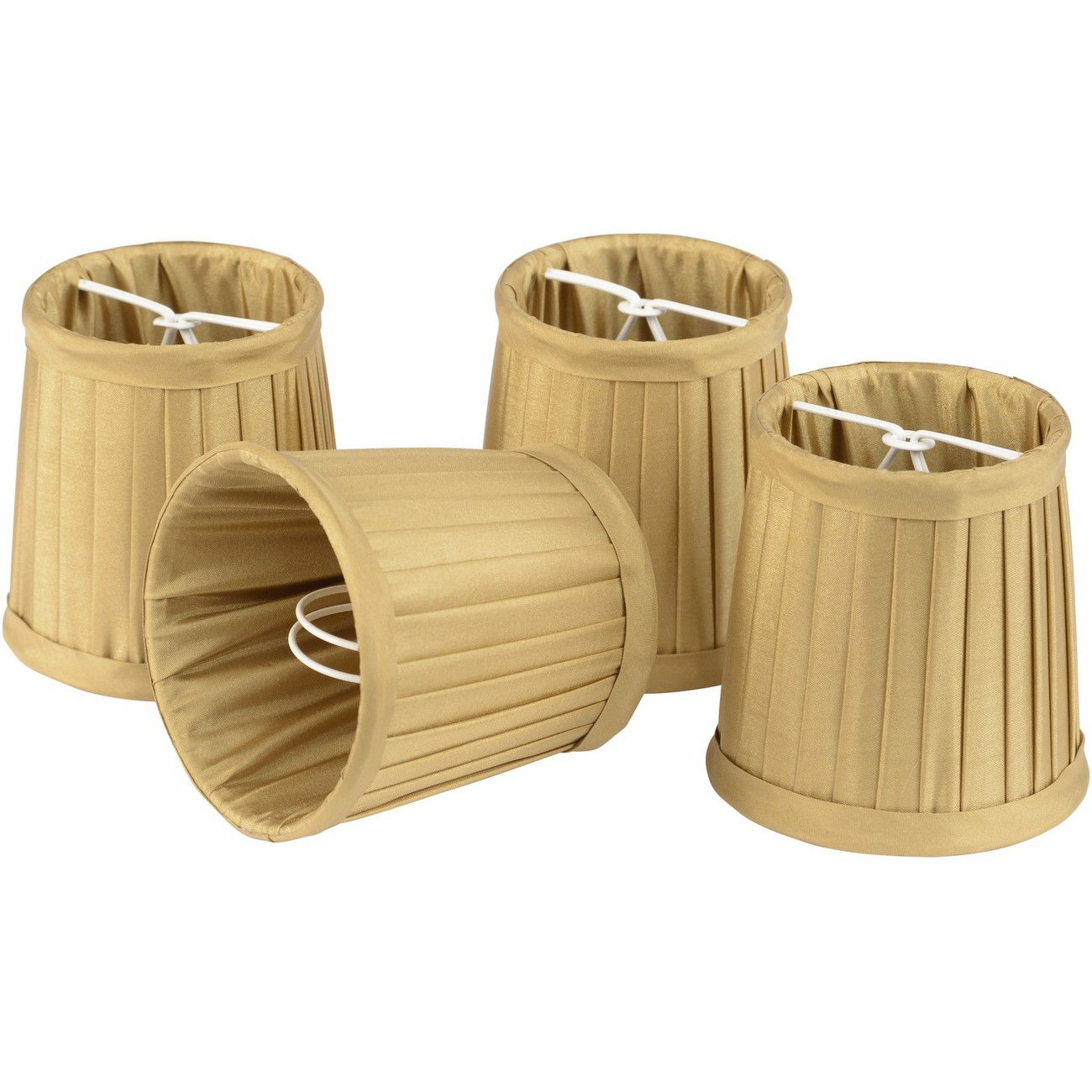 Set of Gold Shades Small For Bamboo Lantern 701099, 701100 thumbnail