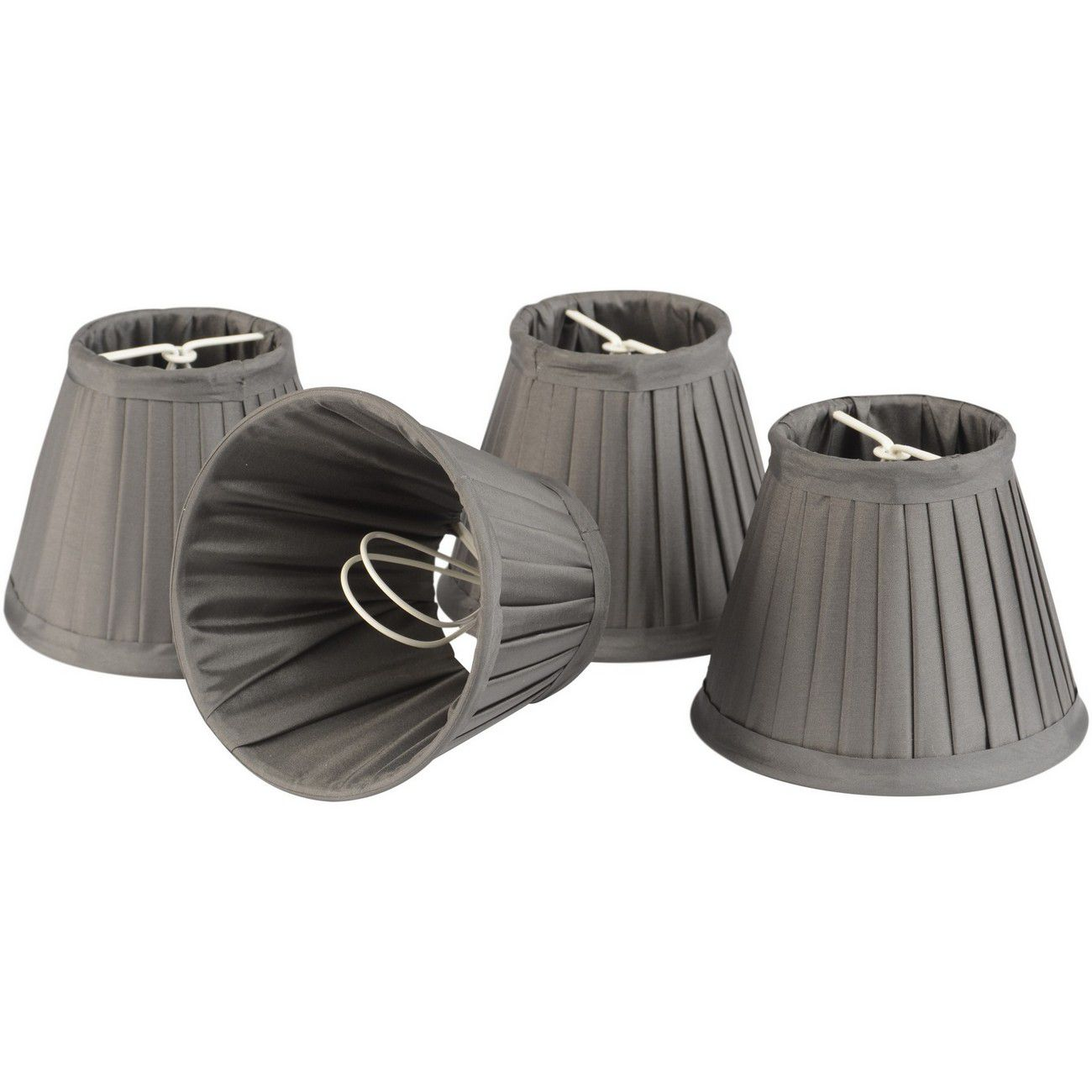 Set of Mid Grey Shades Large For Bamboo Lantern 701097,701098 thumbnail