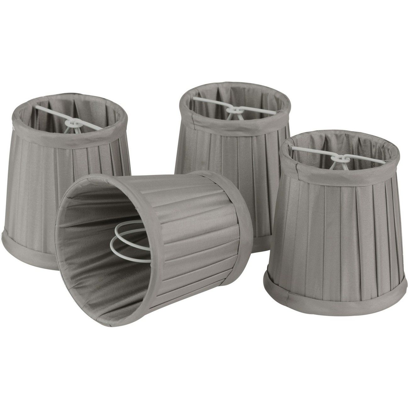 Set of Mid Grey Shade Small  For Bamboo Lantern 701099, 701100 thumbnail