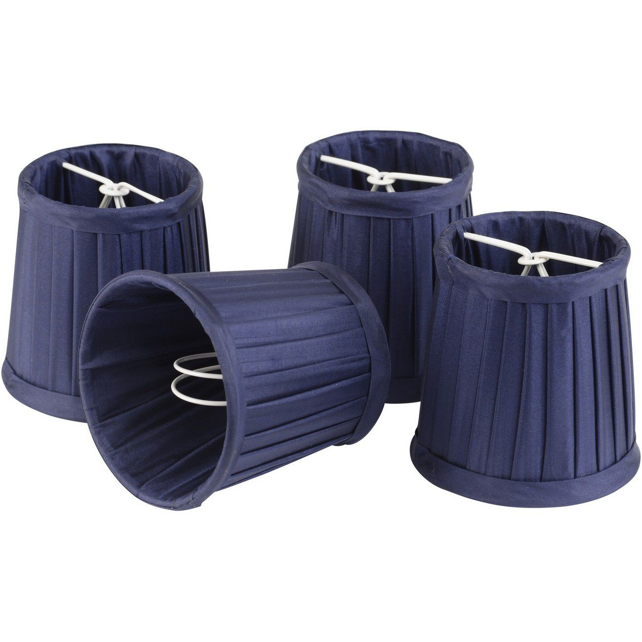 Set of Dark Navy Blue Shades Small For Bamboo Lantern 701099, 701100 thumbnail