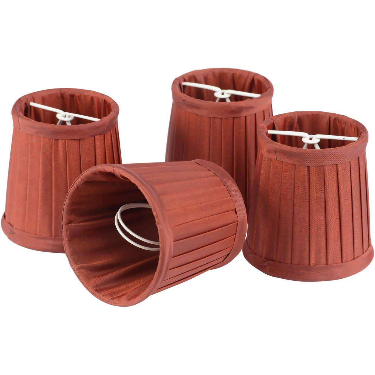 Set of Red Shades Small For Bamboo Lantern 701099, 701100 thumbnail