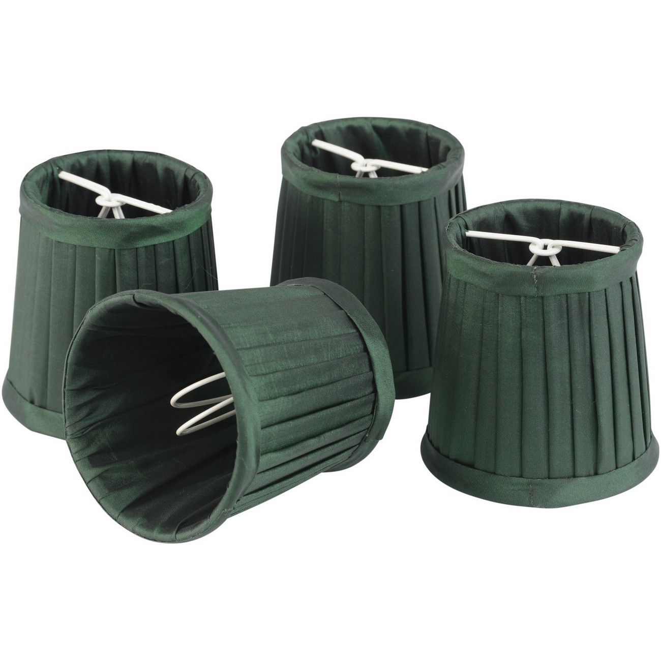 Set of Green Shades Small For Bamboo Lantern 701099, 701100 thumbnail
