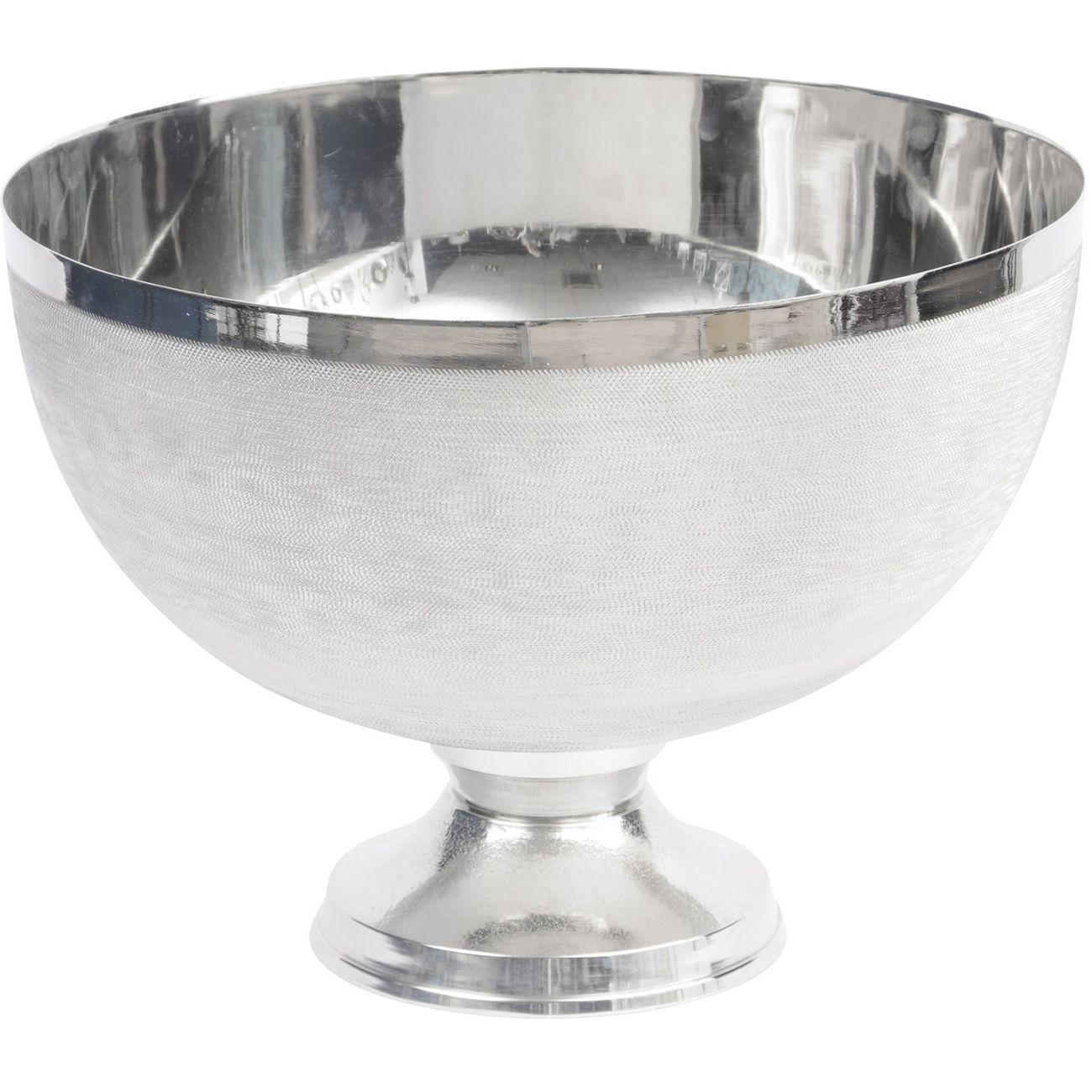 Silver Spun Stemmed Bowl thumbnail