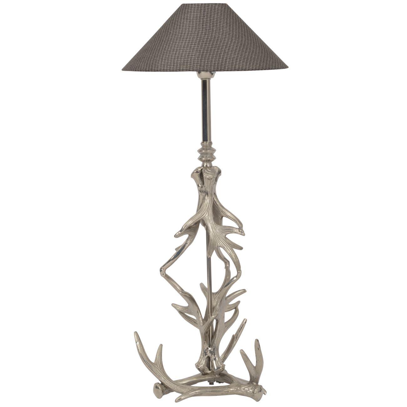 Nickel Antler Table Lamp E27 40W thumbnail