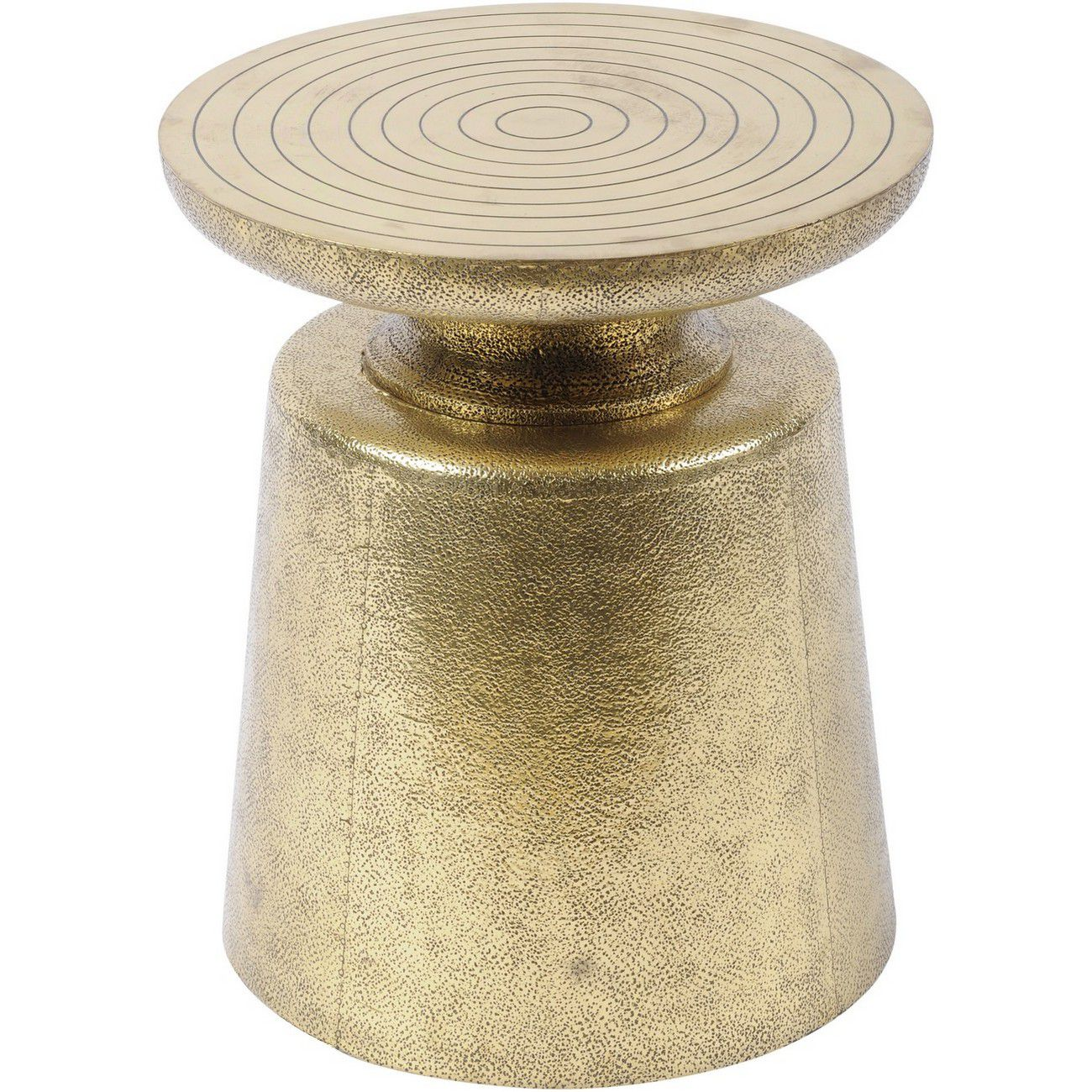 Astor Hand Embossed Brass Metal Martini Stool thumbnail