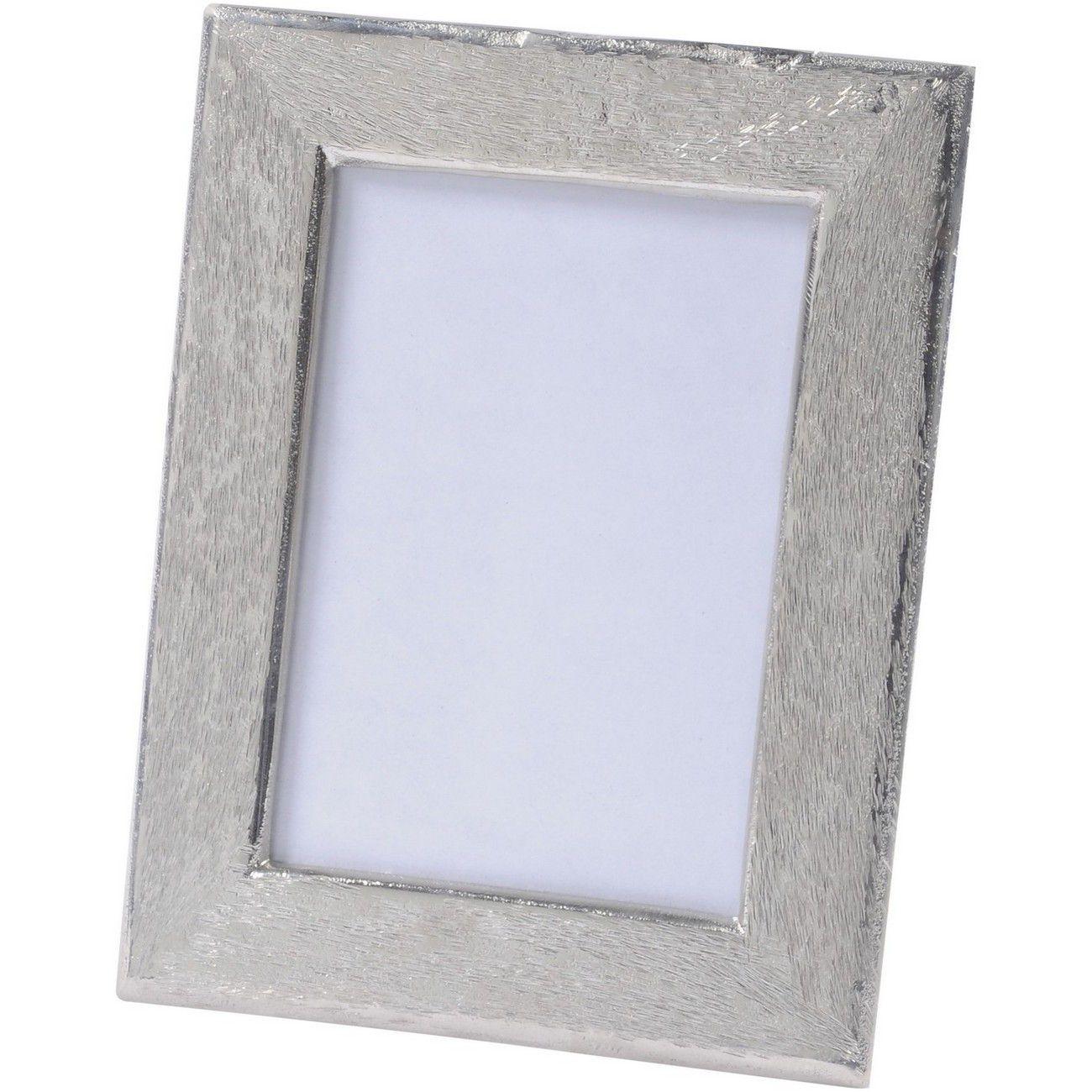 Brushed Silver Aluminium Photoframe 5 x 7 Inch thumbnail