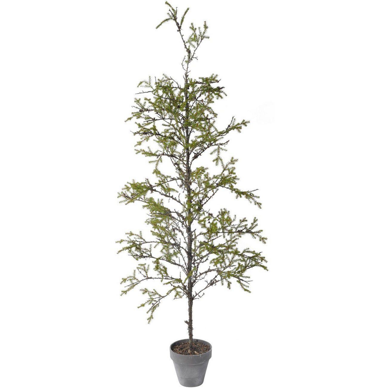Faux Juniper Plant In Decorative Pot 198cm thumbnail