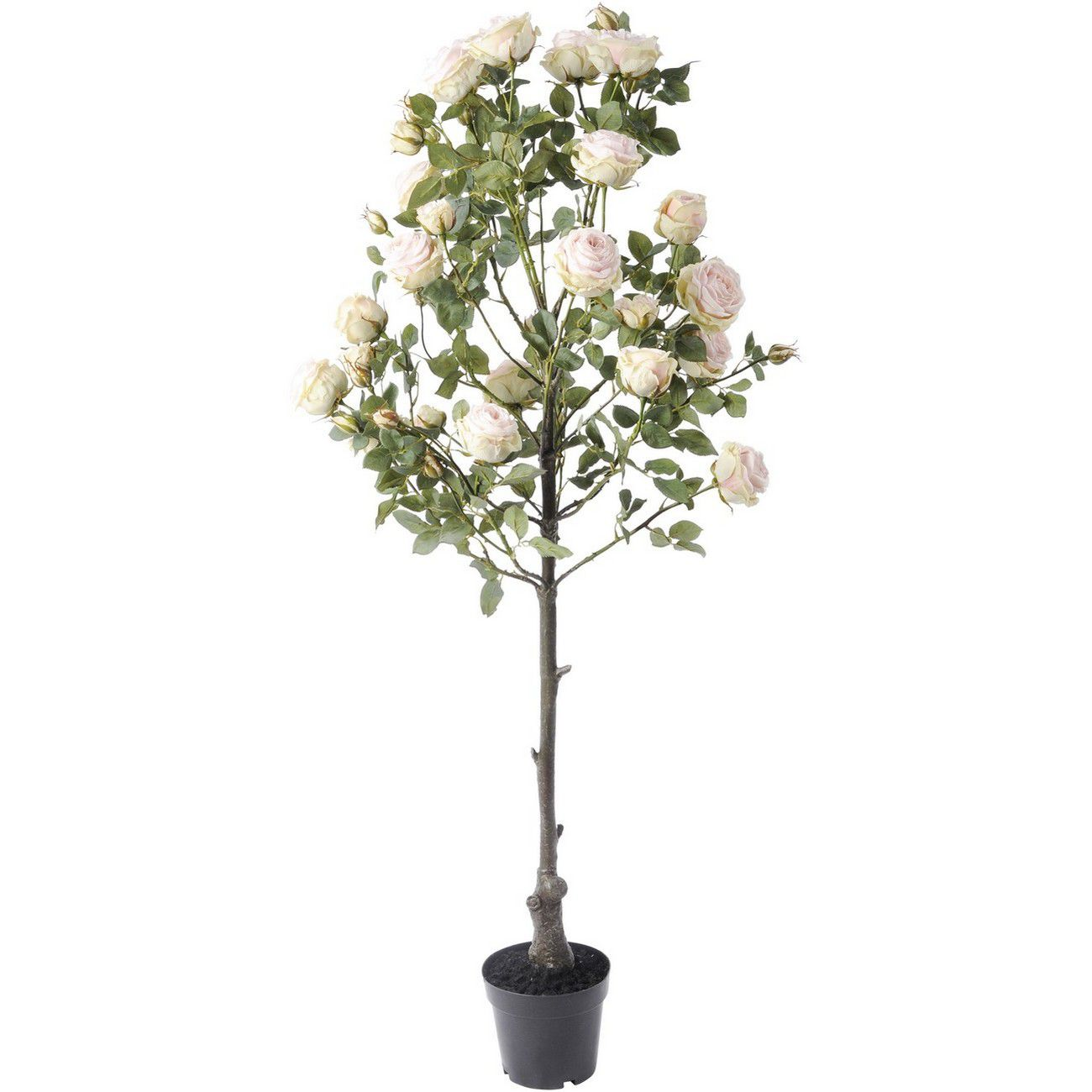 Faux Pink Rose Tree In Pot 160cm thumbnail