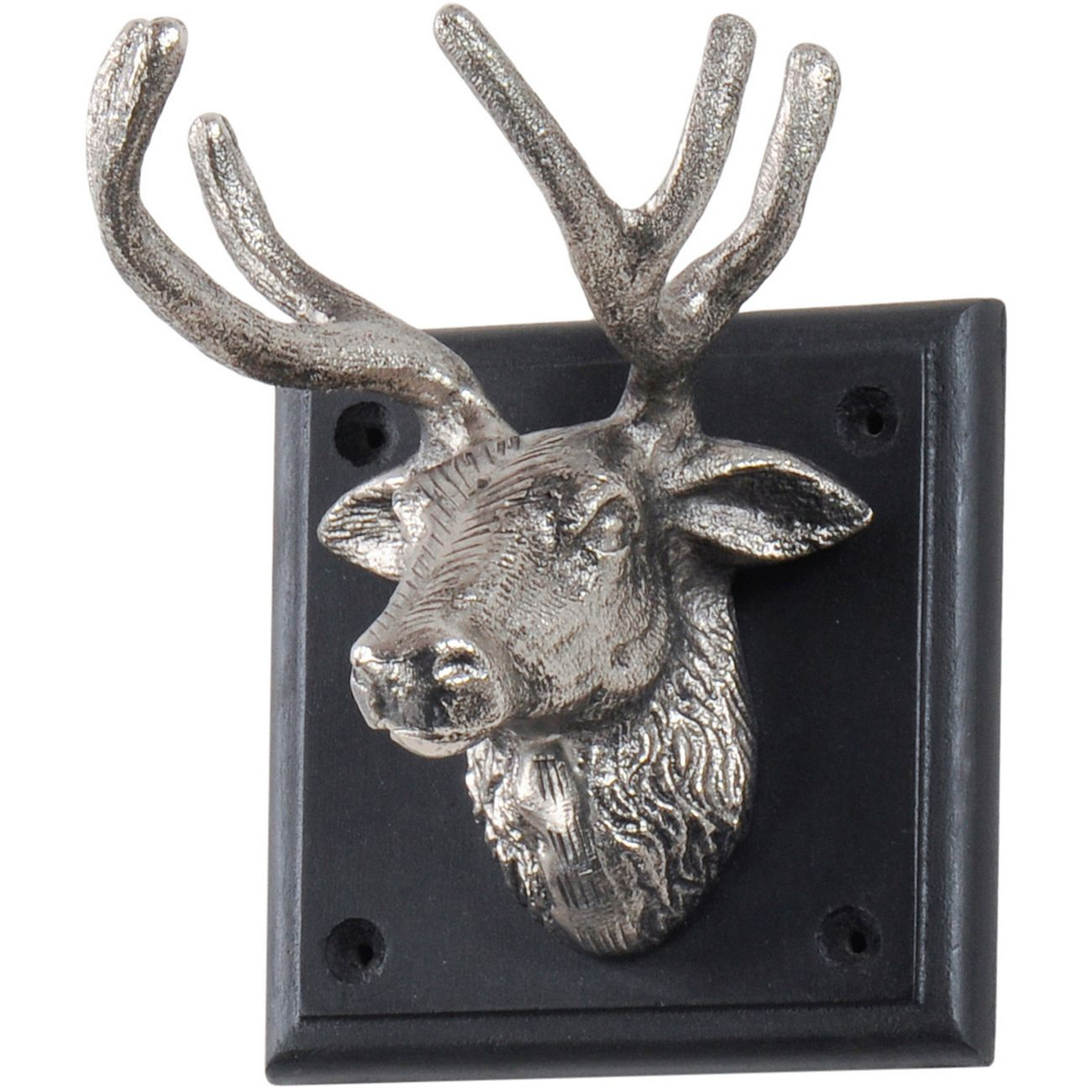 Buckden Silver Stag 1 Wall Hook thumbnail