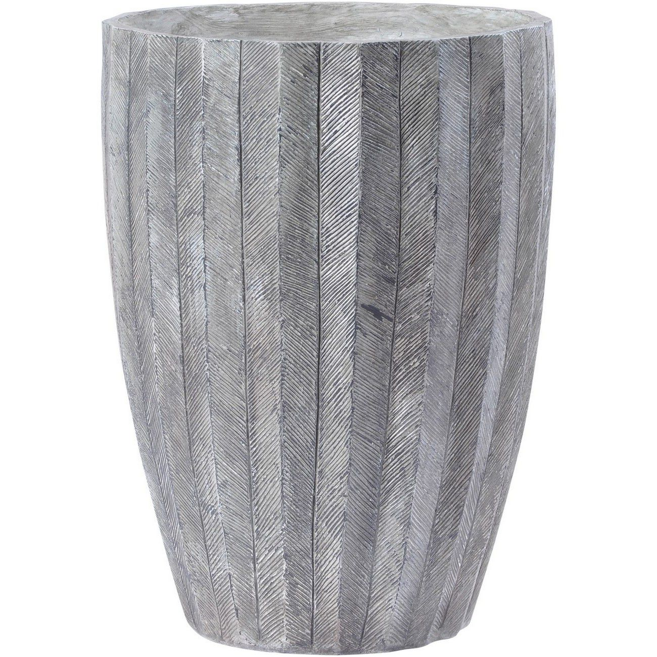 Atherton Grey Textured Resin Planter thumbnail
