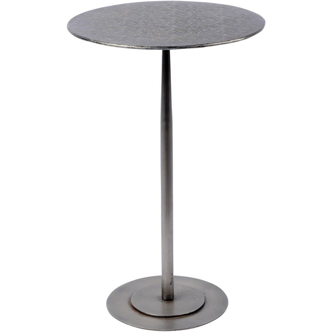 Brunswick Round Iron Side Table thumbnail