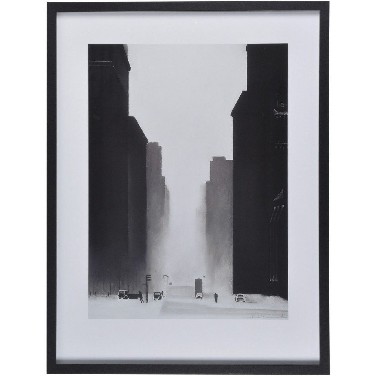 The Big City Framed Print By David Cowden thumbnail