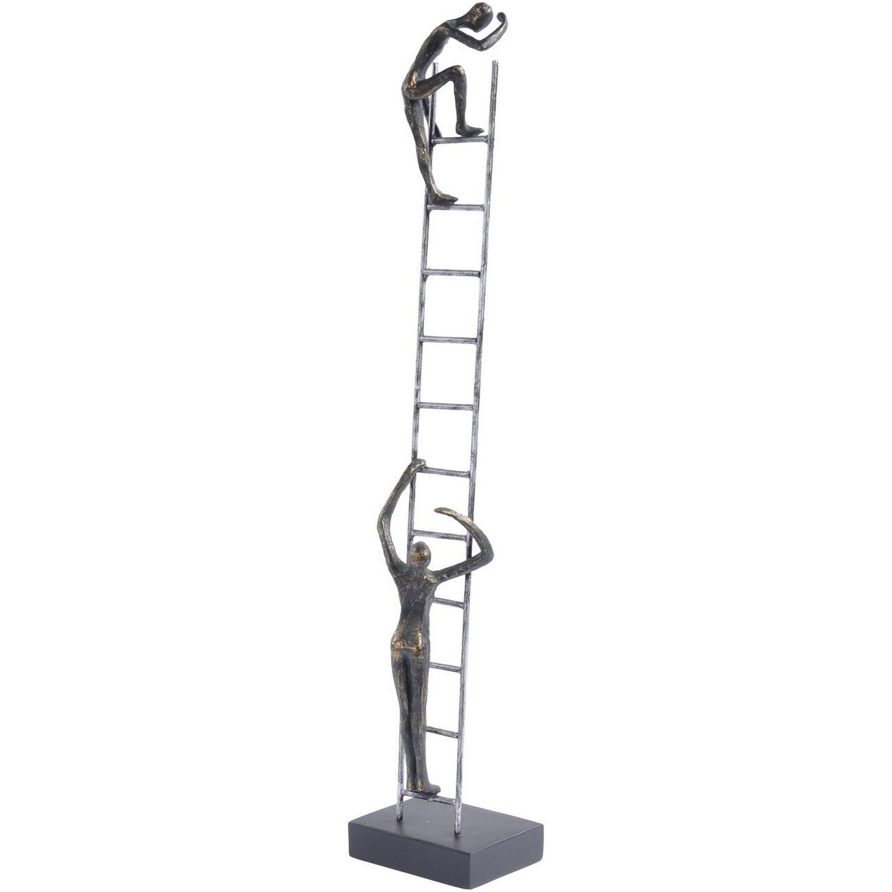 Antique Bronze Ladder Sculpture thumbnail