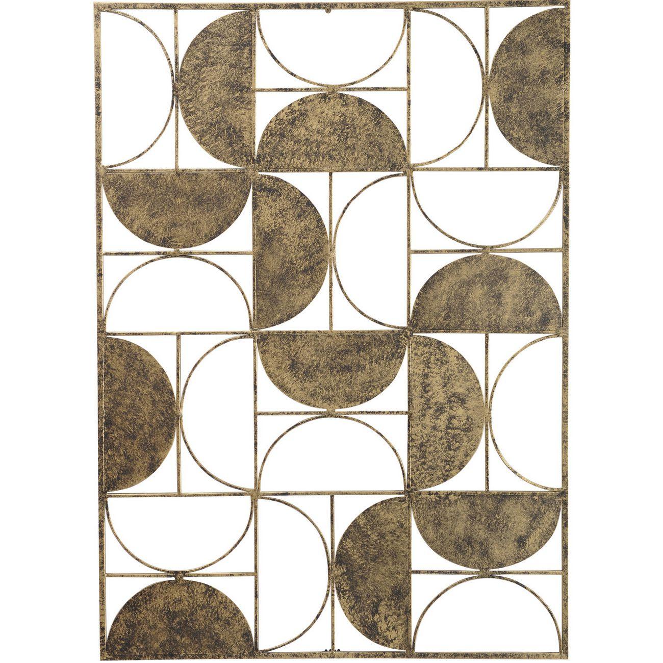 Abstract Rectangular Semi Circle Wall Art thumbnail