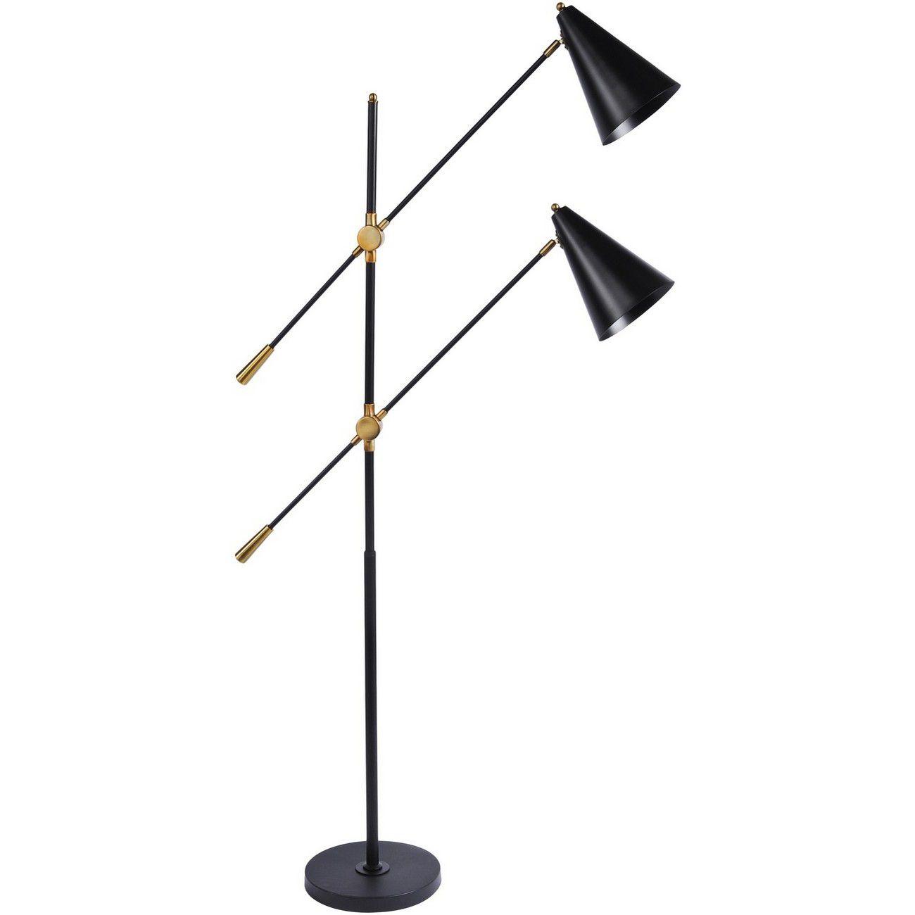 Mercer Twin Head Floor Lamp E27 40W thumbnail