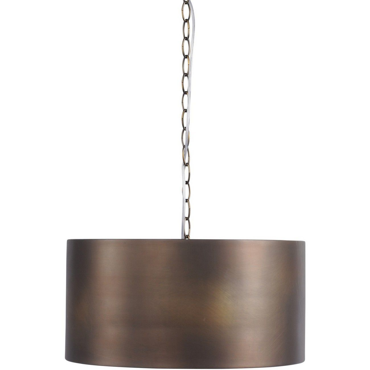 Homestead Vintage Bronze Drum Pendant Light E27 40W thumbnail