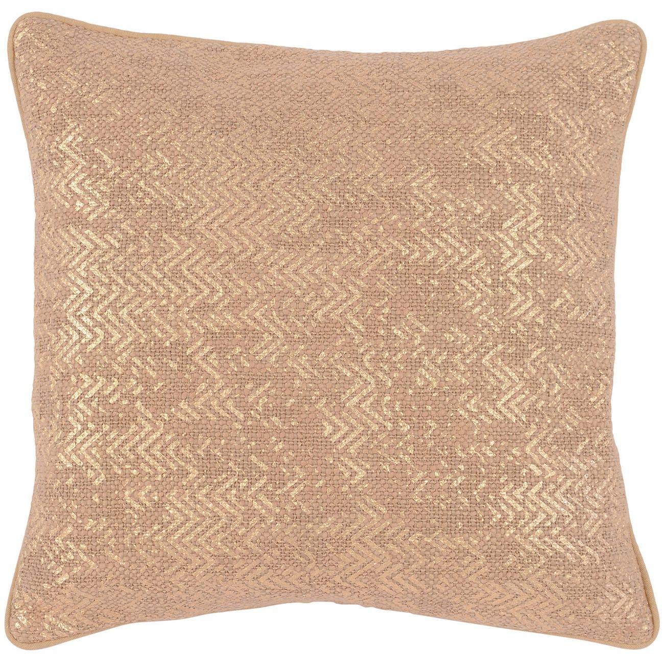Metallic Blush Cushion 45x45cm thumbnail