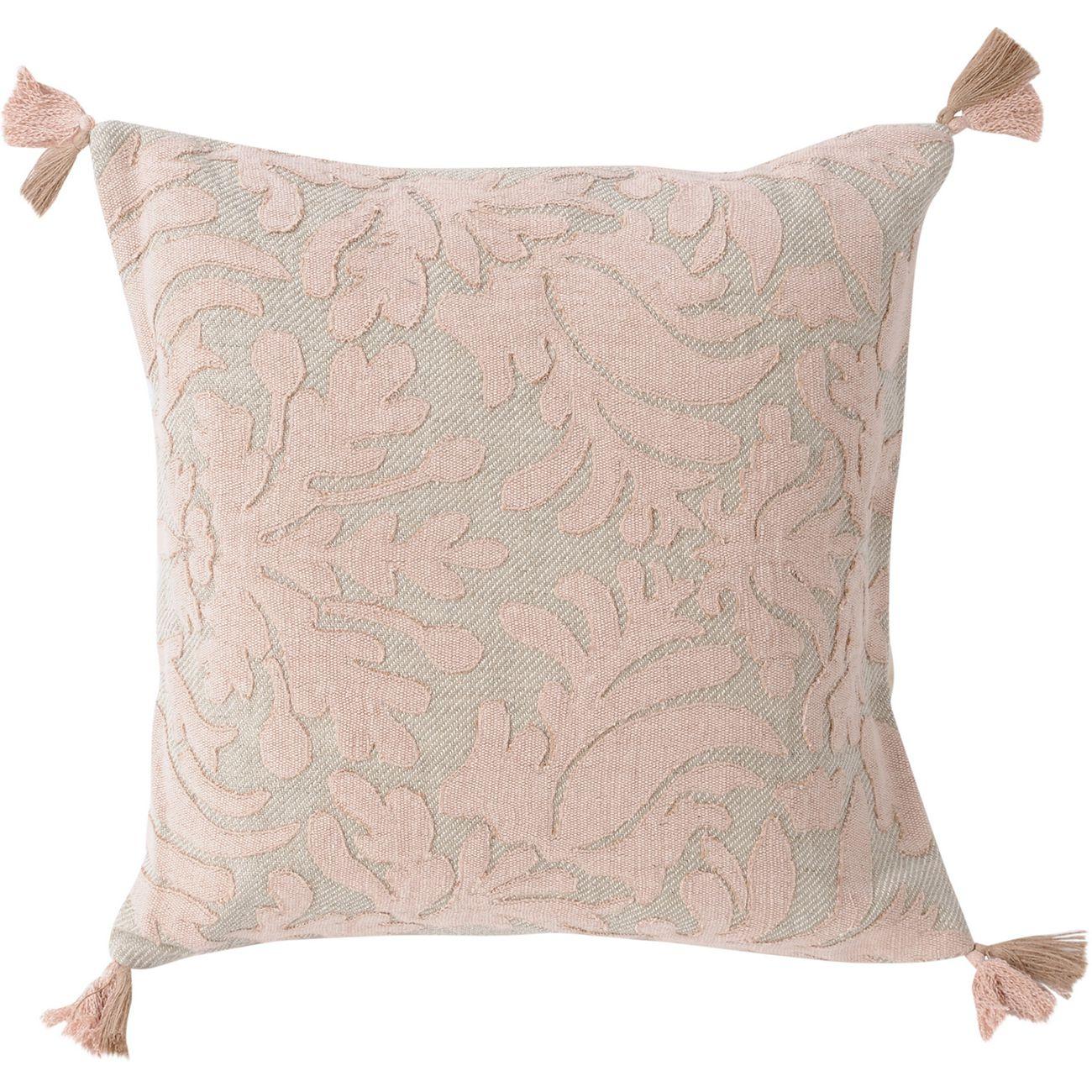 Louis Blush Cushion 45x45cm thumbnail