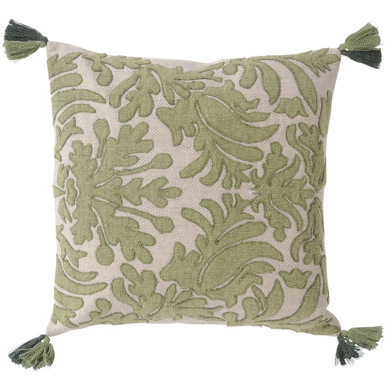 Louis Green Cushion 45x45cm thumbnail