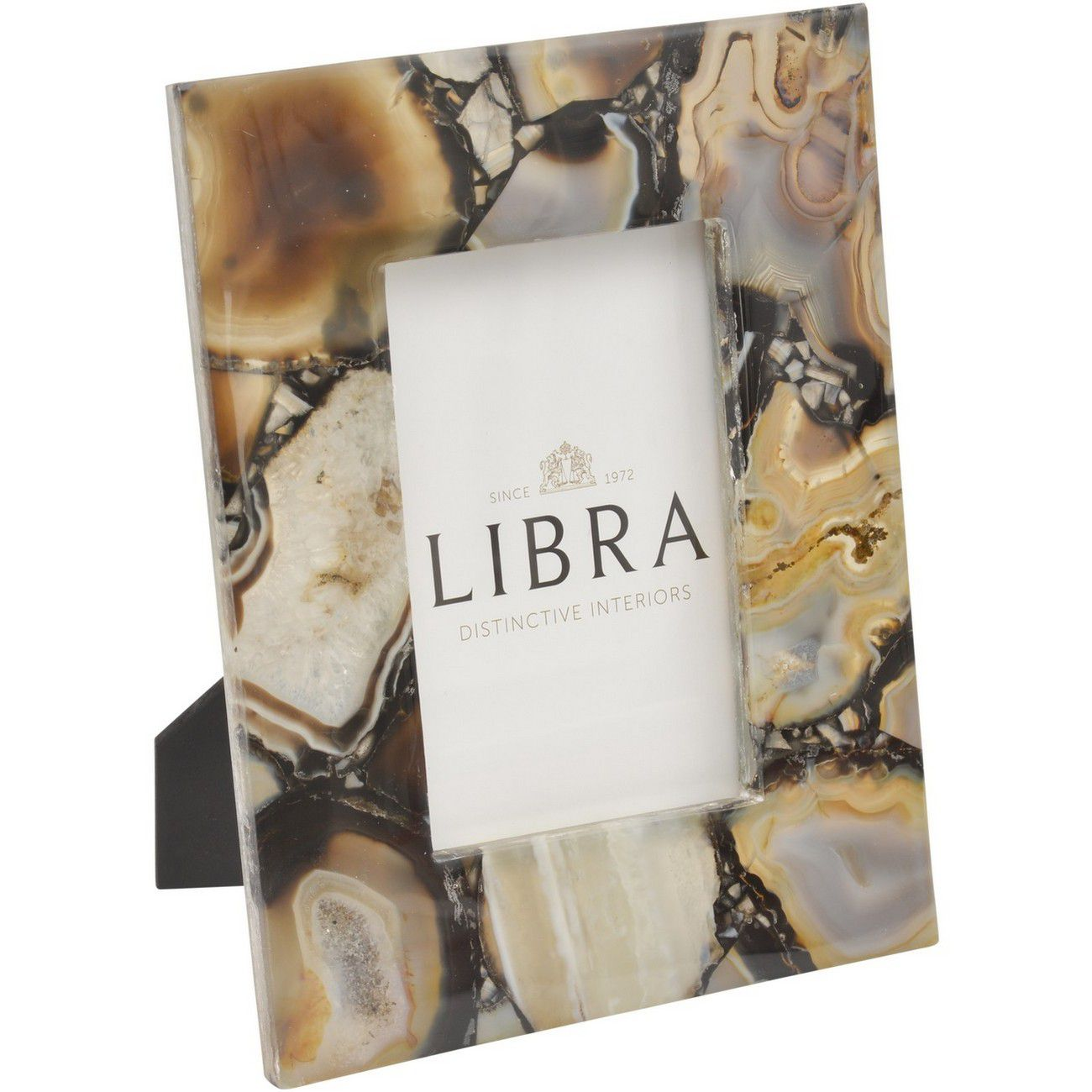 Oleta Black Agate 4x6 Inch Photo Frame thumbnail