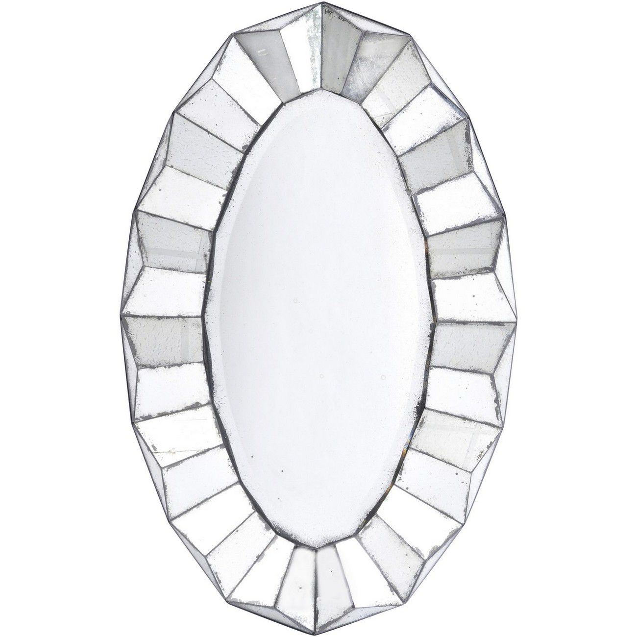 Santiago Antique Oval Mirror thumbnail