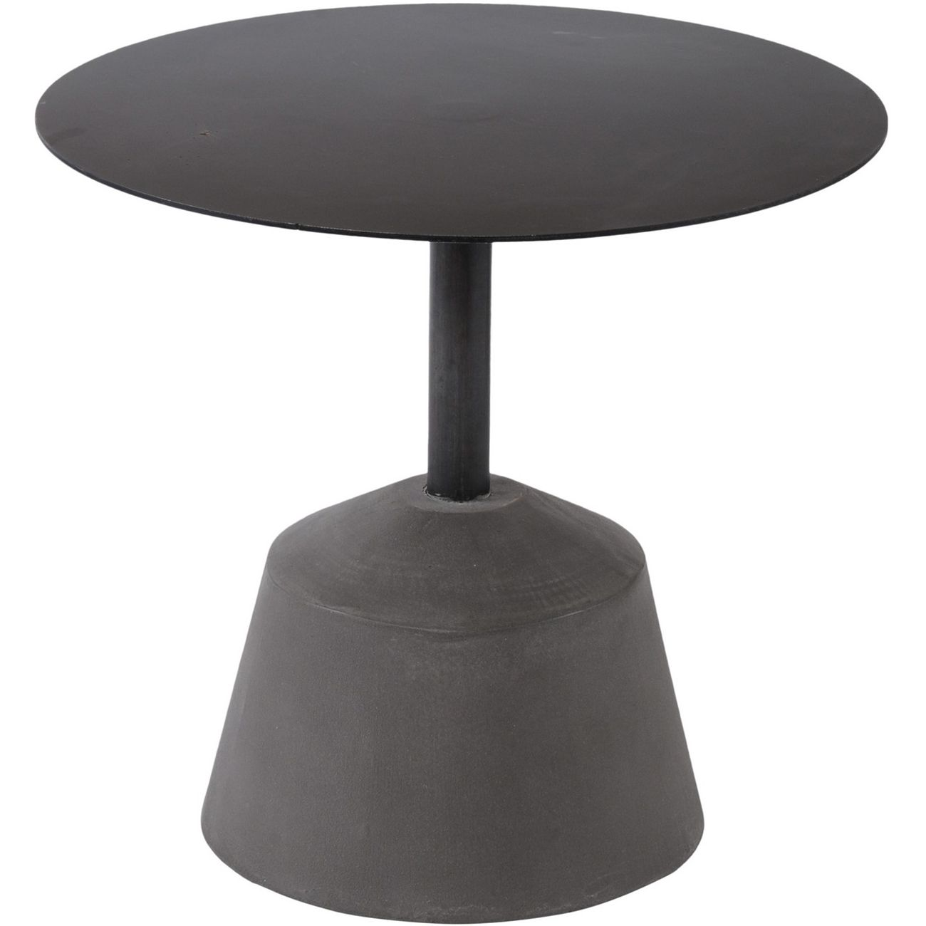 Belmore Iron And Concrete Side Table thumbnail