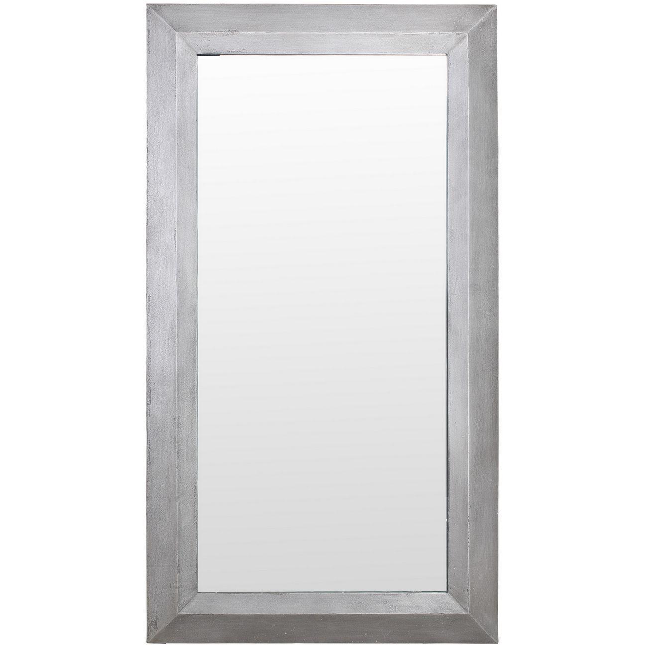 Belmore Concrete Rectangular Mirror thumbnail