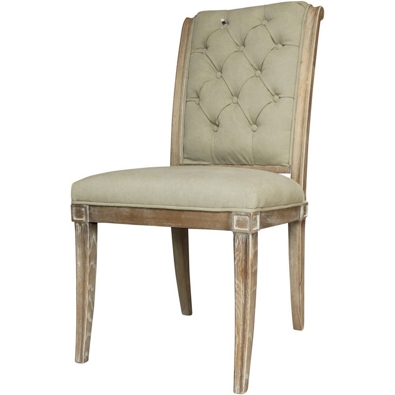 Homestead Grey Button Back Dining Chair thumbnail