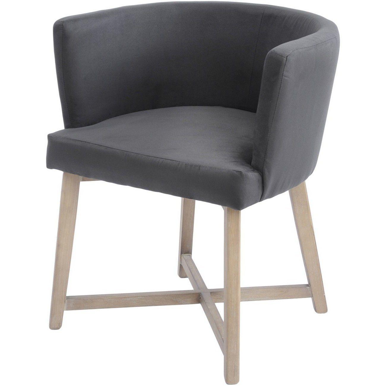 Brooklyn Botanical Dark Grey Velvet Dining Chair thumbnail