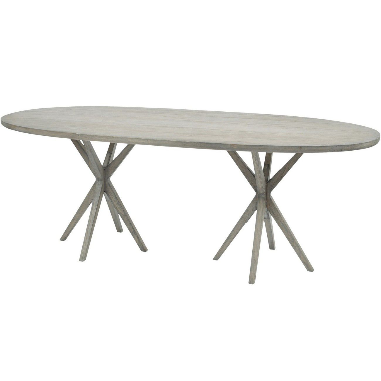 Fairmont Oval Mindi Dining Table thumbnail