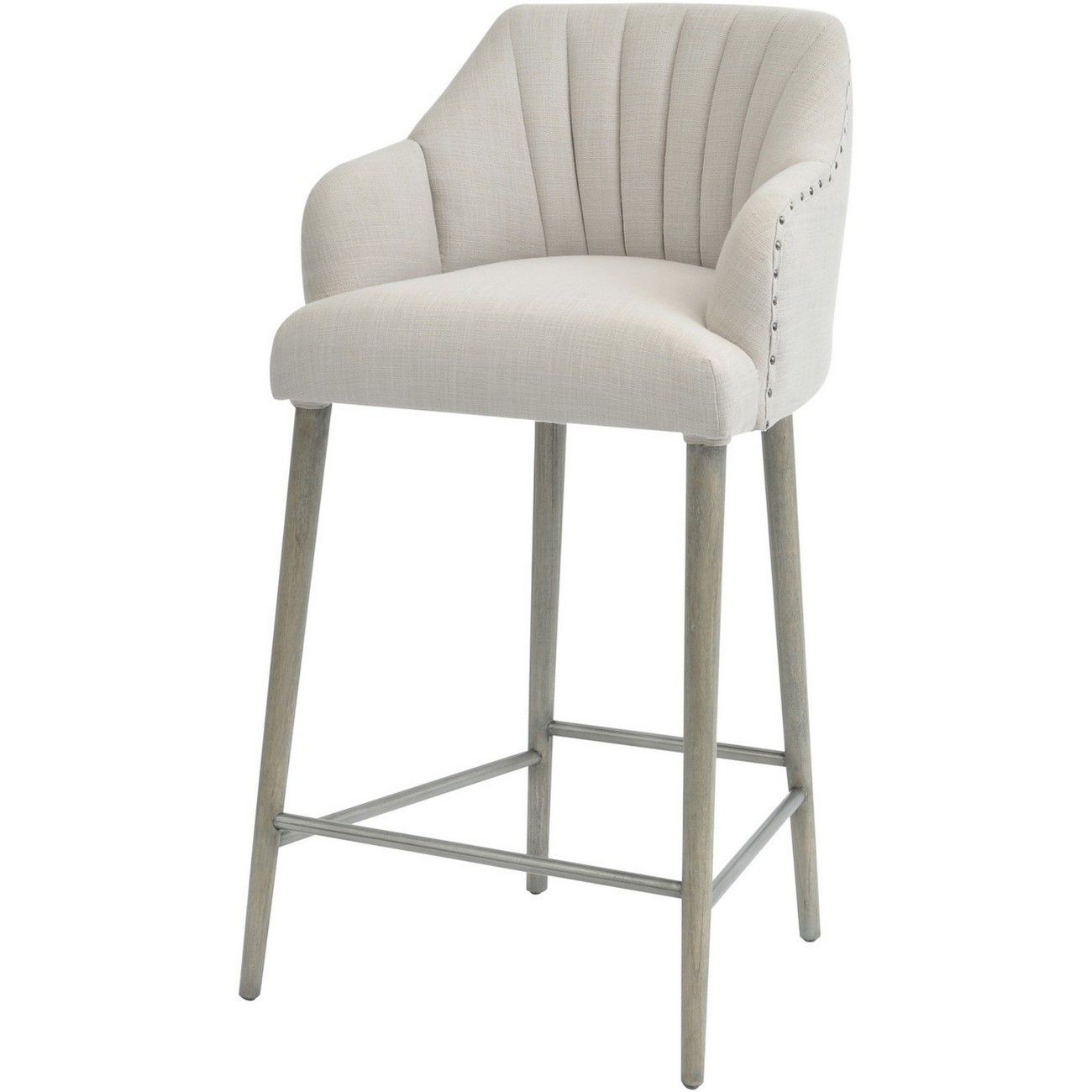 Fairmont Mindi Wood Bar Stool thumbnail
