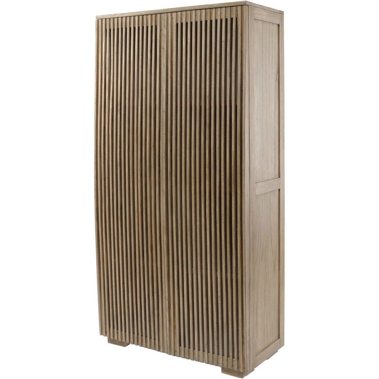 Beaulieu Mindi Wood 2 Door Cabinet thumbnail