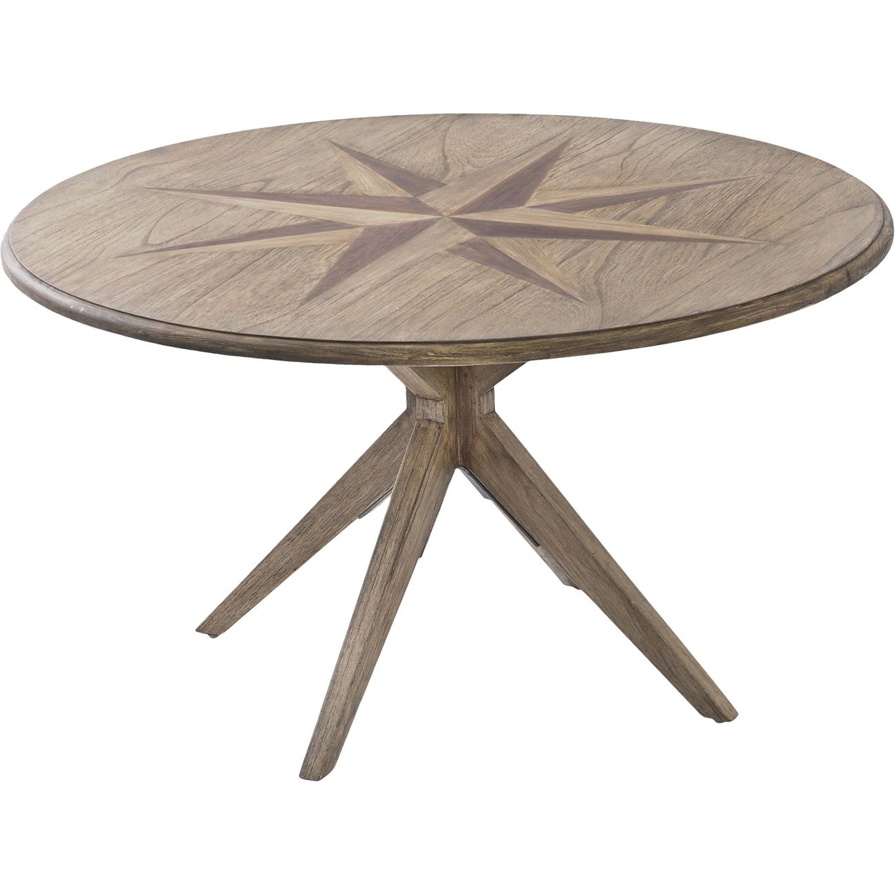 Amerigo Mindi Wood Coffee Table thumbnail