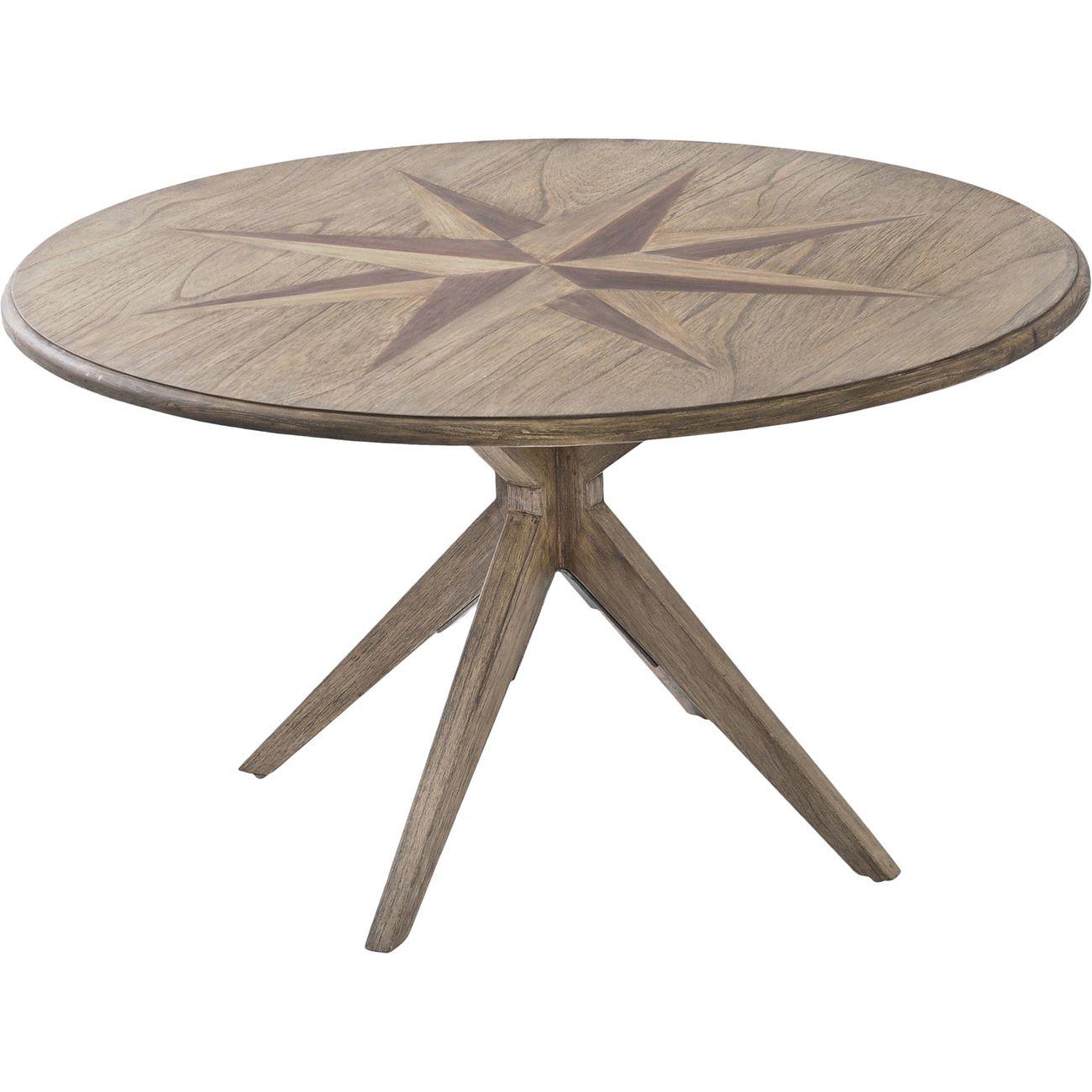 Amerigo Mindi Wood Coffee Table thumbnail