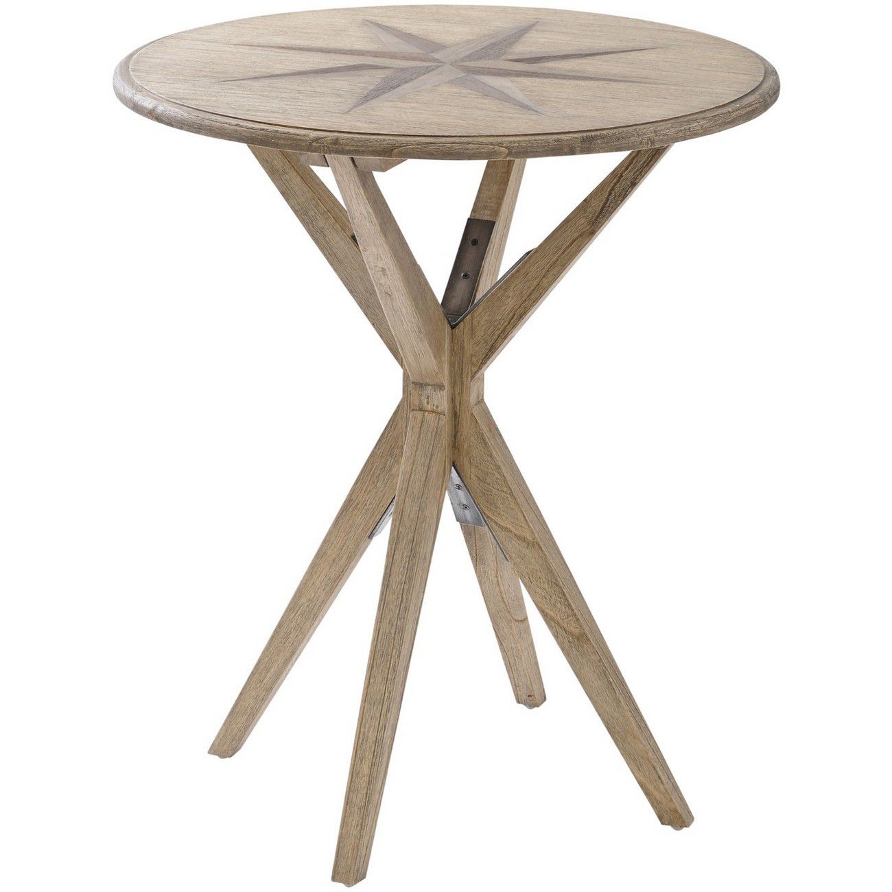 Amerigo Mindi Wood Side Table thumbnail