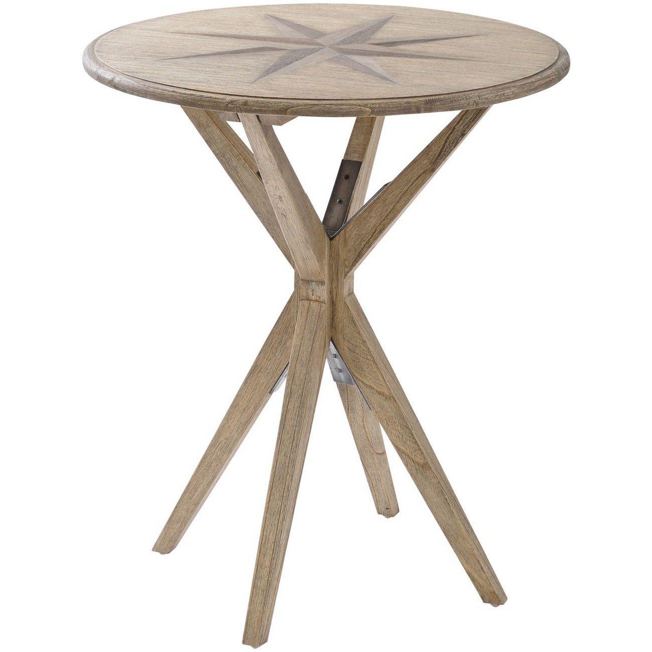 Amerigo Mindi Wood Side Table thumbnail