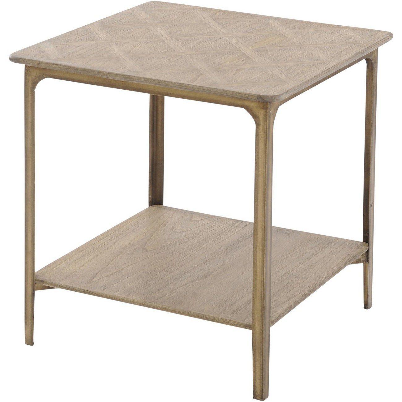 Anstey Mindi Wood Side Table thumbnail