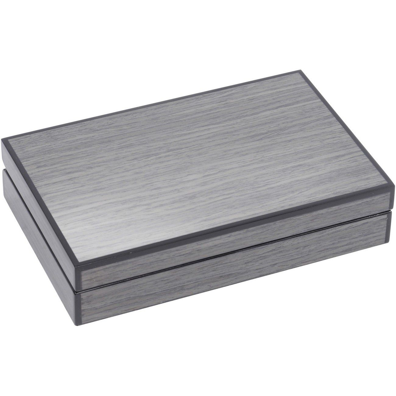 Lismore Grey Gloss Card Box thumbnail