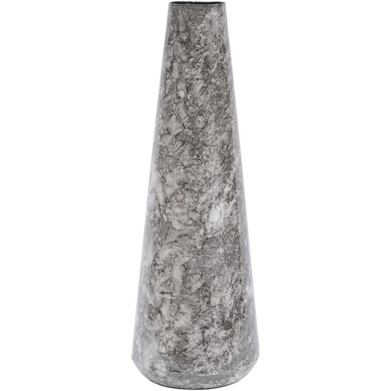Octavia Marble Effect Black Small Cylindrical Vase thumbnail