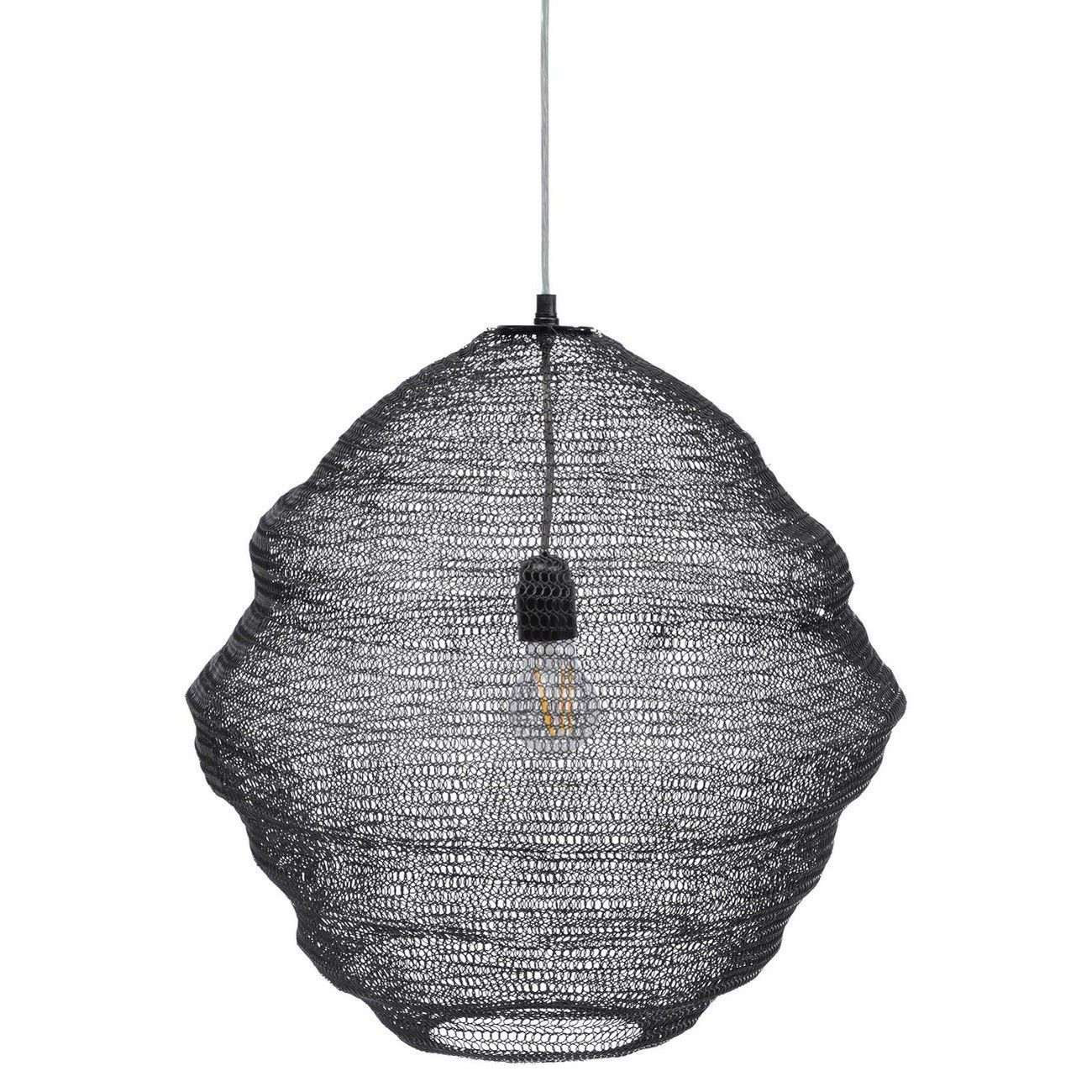 Anzio Black Sphere Pendant Light thumbnail