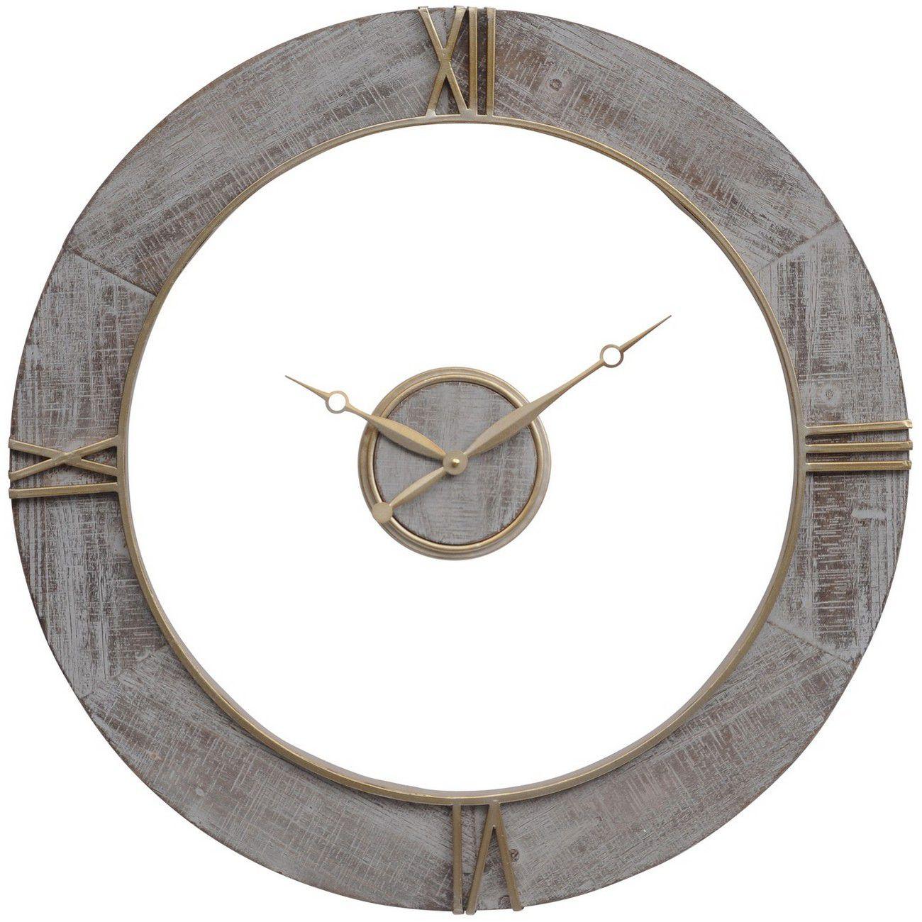 Grey Floating Wall Clock thumbnail