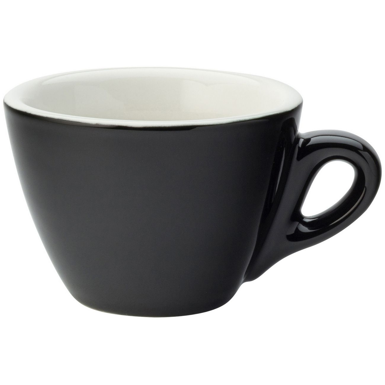 Barista Flat White Black Cup 5.5oz (16cl) thumbnail